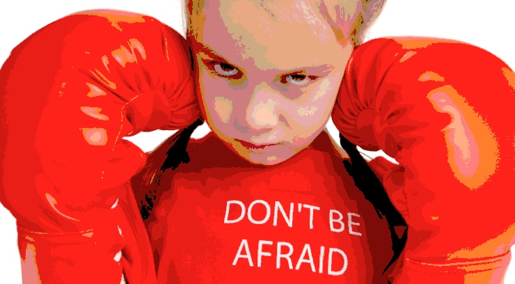 How to help your child face their fear